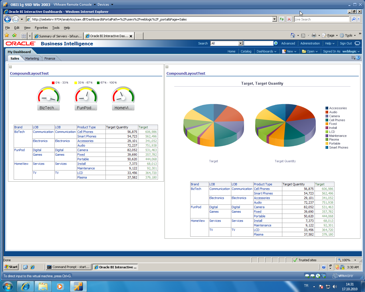 Oracle Business Intelligence Review Bi Software Insight